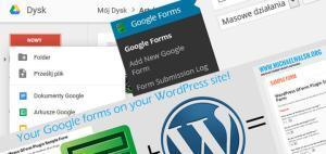 Tworzenia ankiety Google Forms na WordPress